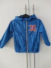 H&M Boys Showerproof Lightweight Jacket Coat Age 2-4 Years