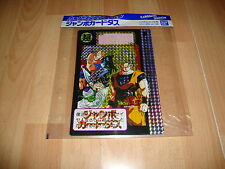 DRAGON BALL JUMBO CARDDASS STATION BY BANDAI CARD # 5A NEW MADE IN JAPAN 07-1992