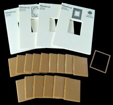 ANNA GRIFFIN Embossing Folders Sentiments Die MIX MATCH Lot Set Frame Rectangle