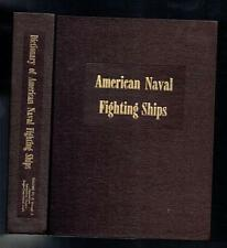 Dictionary of American Naval Fighting Ships Volume VI Historical Sketches R-S VG