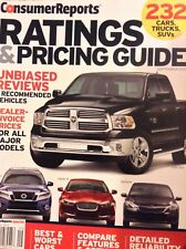 Consumer Reports Magazine Ratings & Pricing Guide September 2013 031318nonrh