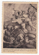 CARTOLINA COLONIALE AFRICA AVVENIMENTI ILLUSTRATI ASCARI LAGO ASCIANGHI 1-328