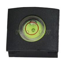 Camera Hot shoe cover protector cap Bubble Spirit Level