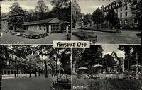 Bad Orb Mehrbildkarte 1958 gelaufen Neue Lesehalle Küppelsmühle Pfeiffer-Krug