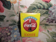 COCA-COLA PLAYING CARDS New in Box COKE Smoke-free 1994