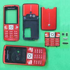RED Full Housing Cover Sony ERICSSON K610 K610i+Keypad