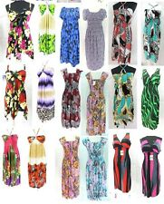 100 pcs wholesale bohemian dresses, beach dress bulk cheap*Ship From US/Canada*