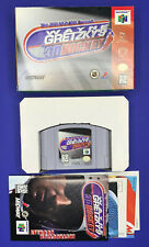 Nintendo 64 WAYNE GRETZKY'S 3D HOCKEY Complete w/ Box Manual TESTED WORKS NHL