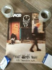 Rancid Life Won'T Wait 2 Sided Promo Poster 14 X 20