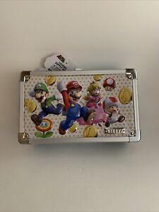 NEW Super Mario Vaultz Locking Supply Box with 2 Keys Official Nintendo License