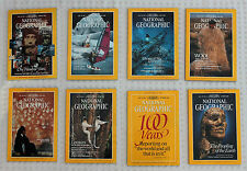 National Geographic 1988. March, April, July, August, September & October
