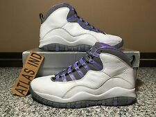 AIR JORDAN 10 RETRO Violet White Purple Nike X 1 3 4 5 6 11 12 OVO DB 2005 9 7.5