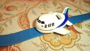 Very Rare Vintage 全日空 All Nippon Airlines Jumbo Jet Wrist Watch 時計