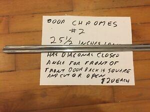 Jaguar Mark 1 Other Saloon Chrome Bead on  Door #2, $20 Each 25.5 Inches Long