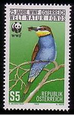 Mint Never Hinged/MNH Birds Austrian Stamps