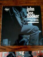 JOHN LEE HOOKER plays & sings the blues LP EX+/EX, CH-9199, vinyl, album, 1986,