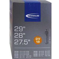 Fahrradschlauch Schwalbe Qualitäts Nr.19 DV 27,5 X 54-56-584 MTB Schlauch 04039