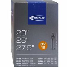 Fahrradschlauch Schwalbe Qualitäts  Nr.19 DV 27,5+29 Zoll div Breiten 04039