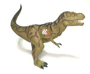 """Jurassic Park 3 ULTRA RE-AK A-TAK T-REX 13"""" Electronic Figure Hasbro 2001"""