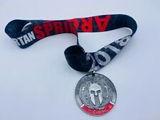 2018 Spartan Sprint Finisher Medal without Trifecta Wedge