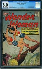Wonder Woman #98 CGC 6.0 DC 1958 1st Silver Age! New Origin! Key Book! G9 141 cm