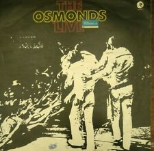 Vinyl Record Album THE OSMONDS LIVE 1971