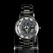Luxury Men's Mechanical Stainless steel Analog Wrist Watch Sport Silver