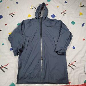 Spyder Men's Rain Shell Rain Jacket Raincoat Navy Blue