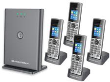 Grandstream DP722/752 Handset & Base Bundle - 4 handsets
