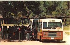 STONEWALL, TX  Texas  BOARDING NPS TOUR BUS    LBJ State Park & Ranch   Postcard
