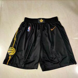 NEW Toronto Raptors Black City Edition Men's Basketball Shorts Size: S-XXL