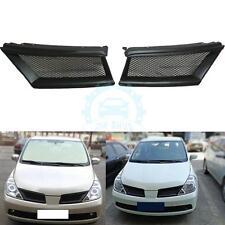 Car Carbon Fiber Honeycomb Front Grille Grill For Nissan Tiida 2005-2007