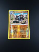 Tyrunt 61/111 Rare Reverse Holo Furious Fists Pokemon Card - Light Play
