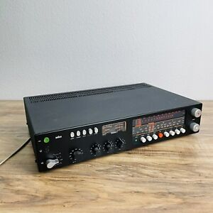 Braun CEV 510   Hifi Stereo Receiver   AM/FM   Design Dieter Rams   1972-76