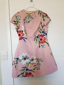ASOS Floral Scuba dress Size 14 NEW