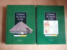 LE PATRIMOINE DES COMMUNES DU CHER.  Editions FLOHIC 2 TOMES EDITION NUMEROTEE