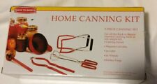 Back To Basics Canning Supplies Kit 5-Piece Set Canning Funnel Jar Lifter Tongs
