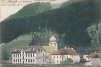 AK aus St. Aegyd am Neuwalde, Pfarrkirche zum heiligen Aegydius,N.Ö.   (F7)