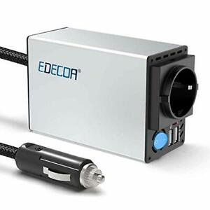 Convertisseur Voiture Allume Cigare 12v 220v Transformateur 2 USB et 1 prises EU