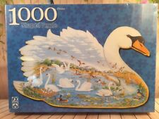 FX Schmid Jigsaw Puzzle Swan Lake Joyce Cleveland 1000 Piece New Sealed