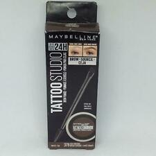 Maybelline Tattoo Studio Brow Pomade 378 Ash Brown .106 Oz NEW SEALED