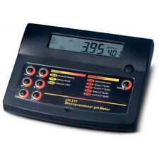 Hanna pH211 PH/MV/ORP METER Bench e accessori Inc PH elettrodo (120 volt)