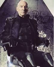 PATRICK STEWART Signed Autographed X-MEN PROFESSOR X CHARLIES XAVIER Photo