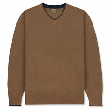 Musto Shooting Zip Neck Knit Toffee Shooting Hunting