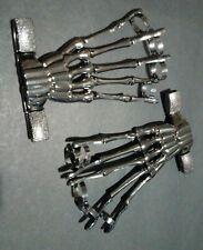 Hot topic skeleton hand ring bracelet  lot of 2