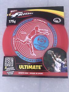 Wham-O Ultimate Frisbee 175g Sports Disc Golf Iridescent Logo (Brand New) Sealed