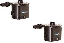 2Pack Campingaz 4D QuickPump AirBed Battery Pump Camping Inflator & Deflator Bed