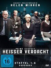 12 DVD-Box ° Heißer Verdacht - Prime Suspect ° Staffel 1-6 Superbox ° NEU & OVP