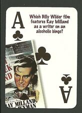 The Lost Weekend Billy Wilder Ray Milland Neat Playing Card #5Y4