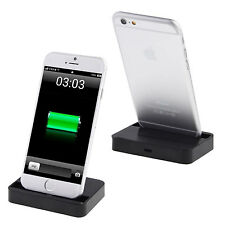 BASE CARGADOR IPHONE 5 5S 6 PLUS ESTACION DE CARGA CHARGING DOCK